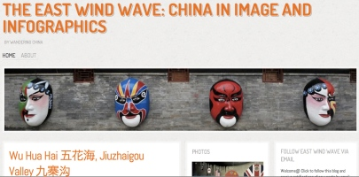 China in images and infographics, by Wandering China
